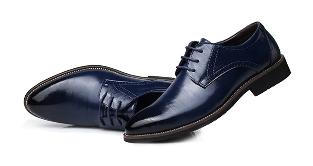 9dafcd2a57c3 ChicWind Men's Classic Modern Oxford Shoes Lace Up Leather Dress Shoes
