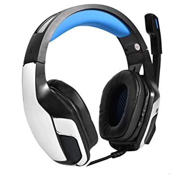 Richer-R Auriculares Gaming,Gaming Headset, Juego Auriculares Cascos con Luz LED y