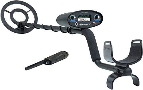 Bounty Hunter Tracker IV Metal Detector in Black