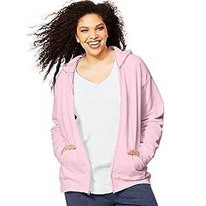 Just My Size ComfortSoft EcoSmart Fleece Full-Zip Women's Hoodie