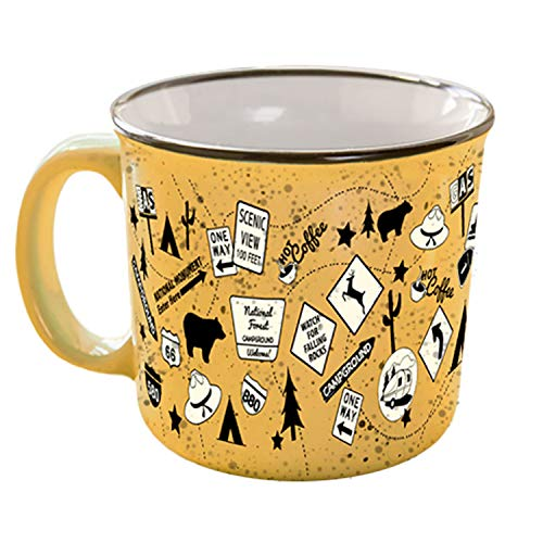 (Camp Casual CC-004T The Mug - Tangerine Trip,1)