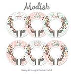 Modish-Labels-Baby-Nursery-Closet-Dividers-Closet-Organizers-Nursery-Decor-Baby-Girl-Deer-Floral-Antlers-Flowers-Woodland