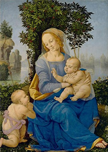 Oil Painting 'Lorenzo Di Credi,Madonna And Child With The In