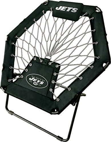 Imperial Officially Licensed NFL Furniture: Premimum Bungee Chair, New York Jets