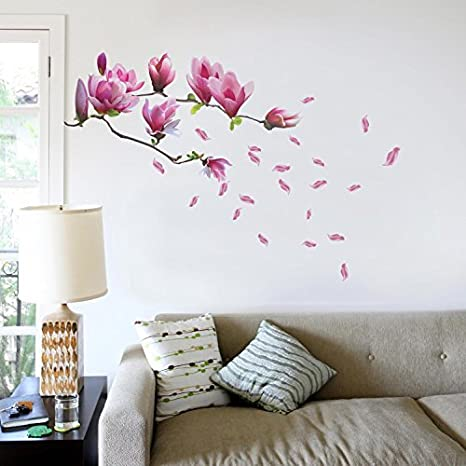 Huge Flower Calla lily Removable Sticker Decal Nursery Décor art living bed room