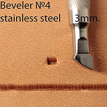 Leather Stamp Tool Stamping Working Carving Punches Tools Craft Saddle Brass #Bevelever 3