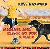 Michael and Black Go for a Walk, Rita Hayward, 1612045413