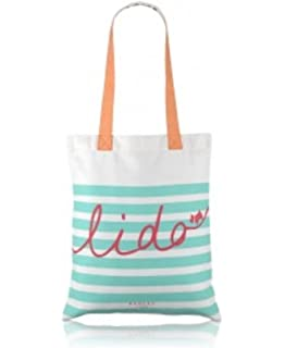 Radley canvas shopper / tote bag / beach bag - 'Deco Dog' Design ...