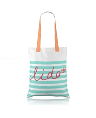 Radley canvas shopper / tote bag / beach bag - Lido design: Amazon ...