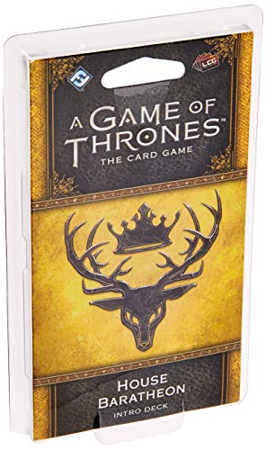 A Game of Thrones LCG Second Edition: House Baratheon Deck (Game Of Thrones Card Game Greyjoy Deck)