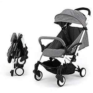 Sillas de paseo ligeras carritos de bebe plegable carro bebe de viaje por 0 5 a os gris - Sillas de paseo pequenas y ligeras ...