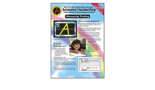 Amazon.com: Animated Handwriting - Manuscript Printing: Video ...