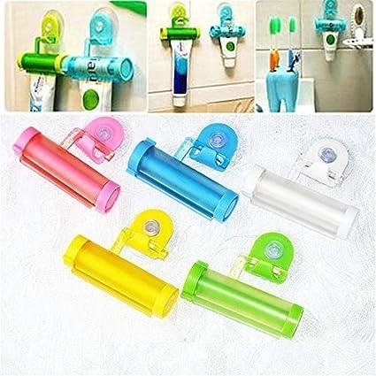 Exprimidor de tubo de pasta de dientes de plástico creativo Color Blanco Panda Cartoon Animal crema