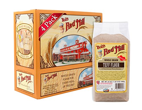 Bob's Red Mill Teff Flour, 24-ounce (Pack of - Discovery Mill