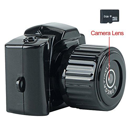 WiseupTM 1280x720P Camcorder Pocket 33x25x33mm