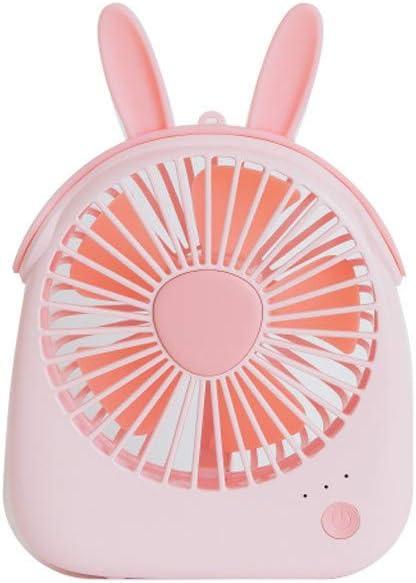 Purple, 11350125mm Emerayo Mini Fan USB Charged Animal Fan Portable Dormitory Desktop Fan