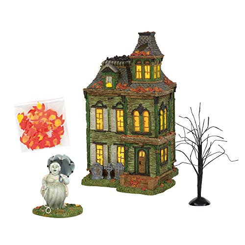 Department 56 Snow Village Halloween Hazel'S Haunted House - Set