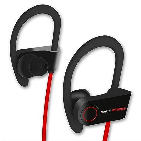 Bluetooth Headphones, QIANXIANG Best Wireless Sports Earbuds,w/Mic IPX7 Waterproof HD Stereo
