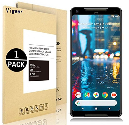 Google Pixel 2 XL Screen Protector, Vigeer [ Full...