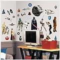 STAR WARS Classic 31 Wall Sticker Yoda R2D2 Darth Vader Room Decor Graphic Decal