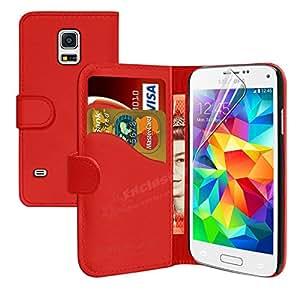 Mobileconnect4u Samsung Galaxy S6 PU Funda de cuero con Protector de pantalla, gamuza y Mini lápiz capacitivo