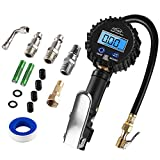 AUTDER Digital Tire Pressure Gauges 235 PSI Air Compressor Accessories