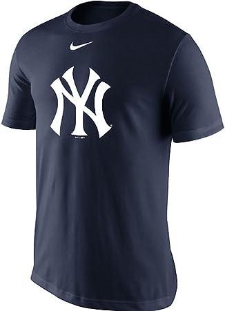 Nike New York Yankees Camiseta de práctica, Marino: Amazon.es: Deportes y aire libre