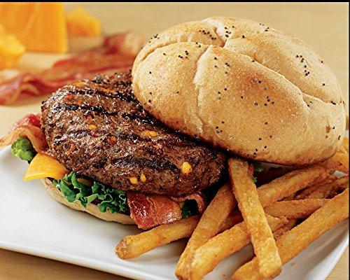 Kansas City Steaks 32 (4.5oz.) Cheddar Bacon Steakburgers