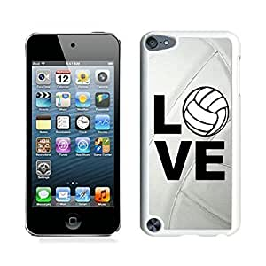 best gifts Volleyball Keep Calm Play On Volleyball Player iPod touch 5 Case White Cover