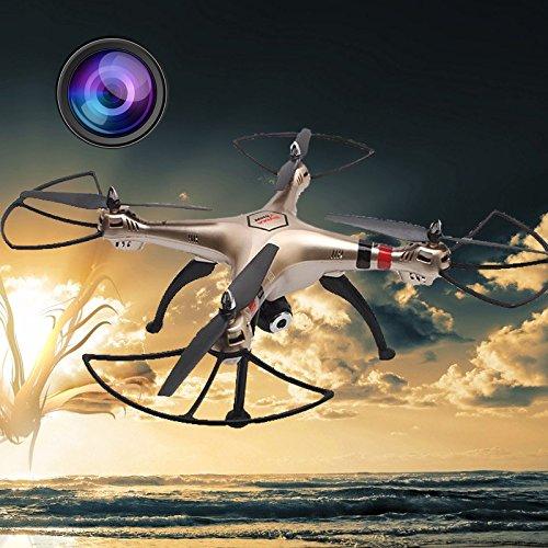 Cewaal X8HW Wifi FPV Drone With 2.0MP HD Camera + SD Card,One Key to Return; Headless Mode,3D Flips,2000mAh Battery Long by Cewaal (Image #5)