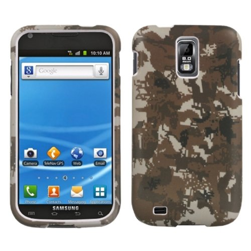 MYBAT SAMT989HPCLZ765NP Lizzo Durable Protective Case for Samsung Galaxy S II - 1 Pack - Retail Packaging - Digital (Lizzo Digital Camo)