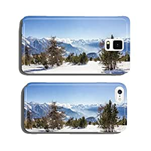 Mountain winter landscape cell phone cover case Samsung S5