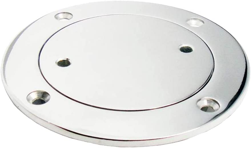 316 Stainless Steel kesoto 3inch Round Deck Cover Access Hatch for Marine Boat//Yacht//Speedboat Non-Slip Durable
