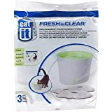 Catit Replacement 3-Pack Carbon and Foam Cartridge for Fresh and Clear Water Fountain