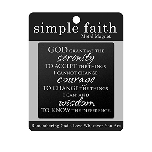 Gifts Serenity Prayer Simple Magnet