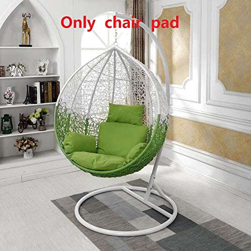 QTQZ A General Swing seat Cushion Thick nest Hanging Chair Back Without Chair-H (Swing Interior Chair)