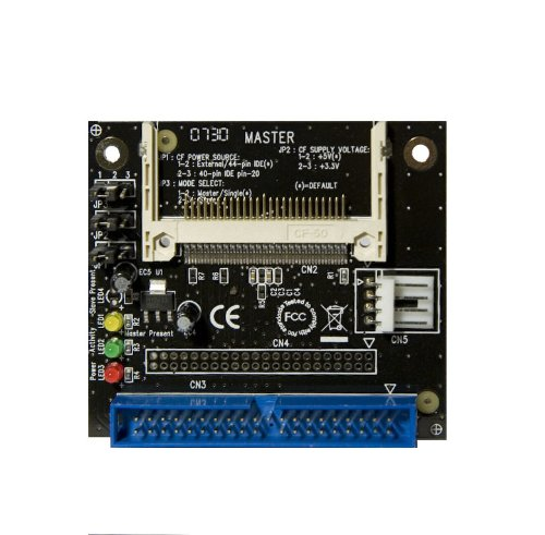 Syba SD-CF-IDE-A IDE to Compact Flash Adapter, Connects to 3.5-Inch IDE Host Interface, UDMA