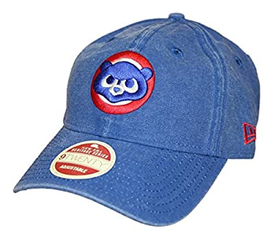 Chicago Cubs New Era MLB 9Twenty Cooperstown Classic Wash Adjustable Hat - 1984 by New Era