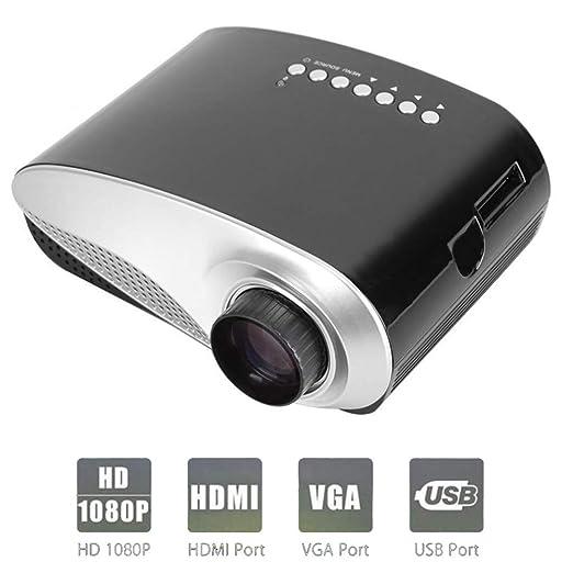 QLPP Proyector de vídeo 2,4 Pulgadas LCD TFT Pantalla, Multimedia ...