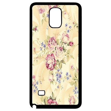 Lived Light Yellow Flower Customize Coolest Samsung Galaxy Note 4 Phone Case (Coolest Cartoon Characters)