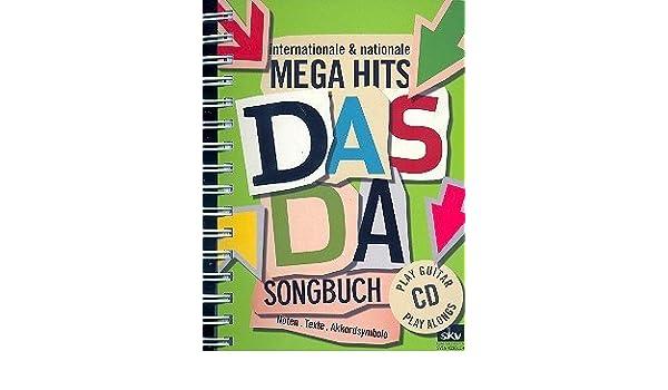 LA DA - Cancionero Incl. CD tocar la guitarra con acerca de 170 internacional & nacional Megahits [Notas de música] (Atascamiento de anillo): Amazon.es: ...