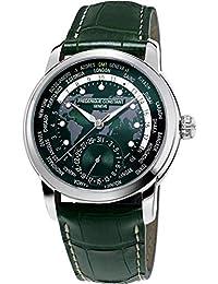 Classic Manufacture Green Worldtimer FC-718GRWM4H6