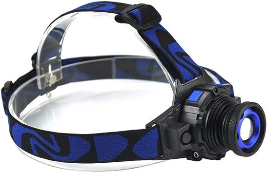 Linterna frontal LED de 1000 lm Q5 con zoom de 4 modos ...