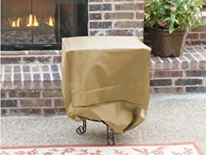 CoverMates Square Side Table Cover : 20L x 20W x 22H Ultima Solution Dyed Polyester