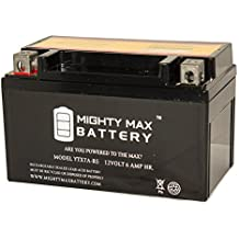 Mighty Max Battery YTX7A-BS Battery for Gas Gy6 Scooter Moped 50CC 125CC brand product