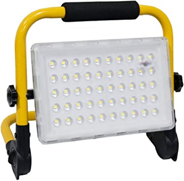 100W Waterproof LED COB Work Light Rechargeable Folding Emergency Camping Lamp