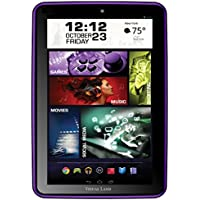 Visual Land Prestige PRO 8Q - 8' Quad Core 16GB Android Tablet, KitKat4.4, Google Play (Purple)