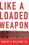 Like a Loaded Weapon, Robert A. Williams, 0816647100