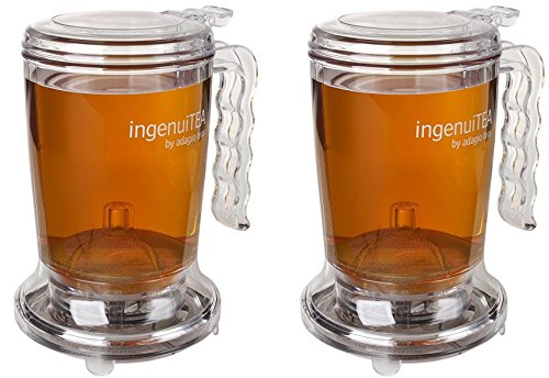 Adagio Teas 16 oz. ingenuiTEA Bottom-Dispensing Teapot - 2 Pack