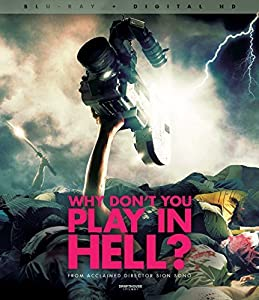 Cover Image for 'Why Don t You Play in Hell? Blu-ray + Digital Copy'